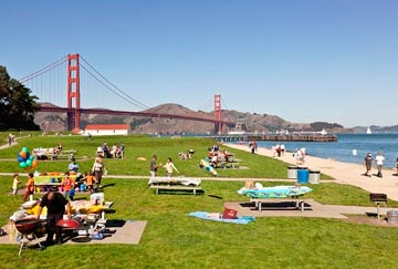 San Francisco, playa Crissy Field